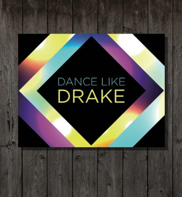 Dance like drake background