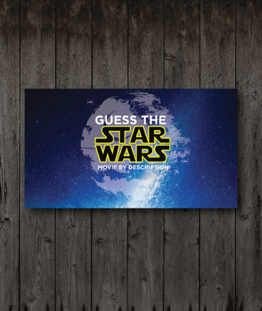 Guess The Star Wars Movie By Description
